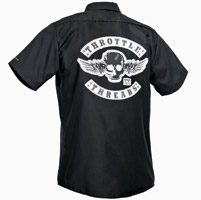 ThrottleThreads Men's TT Original Shop Shirt