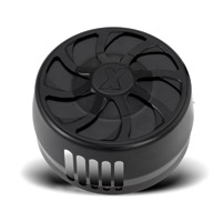 Xtreme Machine Turbo Black Horn Cover