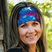 DesignWraps Brands Inc Stretch Patriot Headband