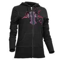 ThrottleThreads Women's Angelic Hoodie