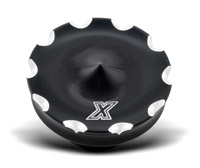 Xtreme Machine Death Black Cut Dummy Gas Cap