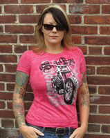 Sick Boy Women's Burnout T-shirt