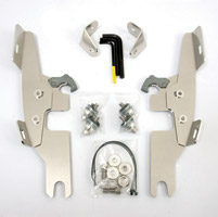 Memphis Shades Batwing Fairing Polished Trigger Lock Mount Kit