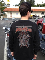 MotorCult Layin' Lines Long-sleeve Shirt