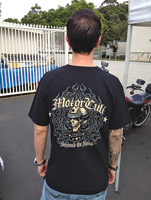 MotorCult Men's Second to None Black T-Shirt