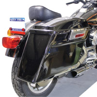 Sumax Saddlebags and Brackets for FXR