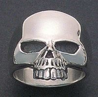 Wildthings Half Skull Ring