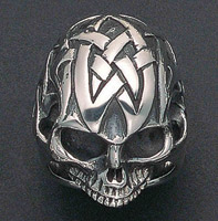 Wildthings Tribal Skull Ring