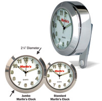 Marlin's BCM White Limited Edition Jumbo Clock