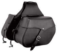 First Manufacturing Co. Diagonal Throwover Saddlebag