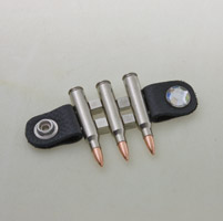 223 Bullet Vest Extender with Crystal Snap