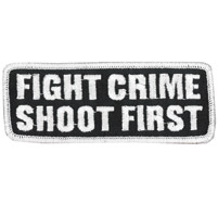Hot Leathers Fight Crime Shoot First Patch