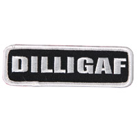 Hot Leathers DILLIGAF Patch