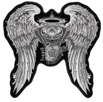 Hot Leathers Asphalt Angel Patch