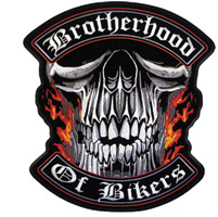 Hot Leathers Brotherhood Of Bikers Patch