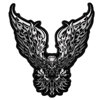 Hot Leathers New Tribal Eagle B Patch