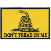 Hot Leathers Don'T Tread On Me Patch