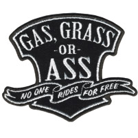 Hot Leathers Gas Grass Or Ass Patch