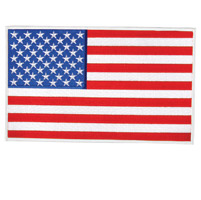Hot Leathers American Flag Patch