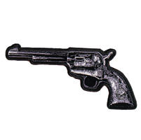 Hot Leathers Revolver L Patch