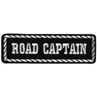 Hot Leathers Road Captain Patch
