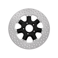 Roland Sands Design Diesel Black Ops Two-Piece Front Brake Rotor, 11.5″