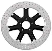 Roland Sands Design Diesel Black Ops Two-Piece Front Brake Rotor, 13″