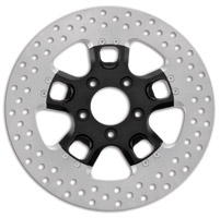 Roland Sands Design Judge Black Ops Two-Piece Front Brake Rotor, 11.8″