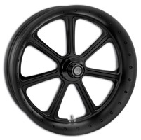 Roland Sands Design Black Ops Diesel Front Wheel with ABS, 18″ x 3.5″
