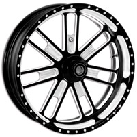 Roland Sands Design Contrast Cut Slam Front Wheel, 21″ x 2.15″