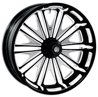 Roland Sands Design Contrast Cut Boss Front Wheel, 18″ x 3.5″