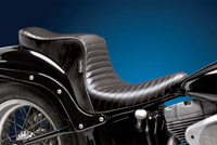 Le Pera Cherokee Pleated Stitched Seat