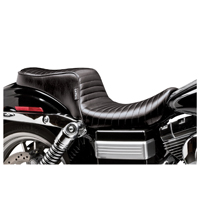 Le Pera Cherokee Pleated Stitched 2-Up Seat
