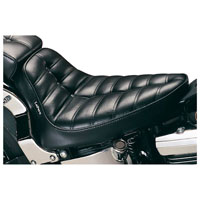 Le Pera Cobra Button Pleated Solo Seat