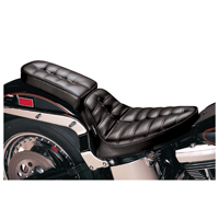 Le Pera Cobra Button Pleated Passenger Seat