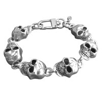 AMiGAZ Monster XL Skull Chain Bracelet