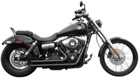 Rush Short Series Black Straight Cut Exhaust System