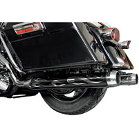 LA Choppers Flame Muffler Slip-On Sleeves for Rinehart 3-1/2