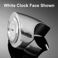 Highway Hawk Space Chrome Handlebar Watch with Black Face