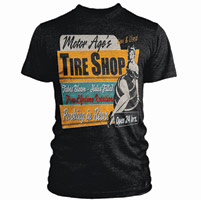 Motor Age Tire Shop T-shirt