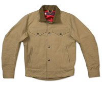 Roland Sands Design Khaki Hesher II Jacket