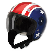 HCI-15 Stars and Stripes Open Face Helmet