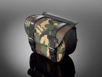 Highway Hawk Camoflauge Saddle Bag Set