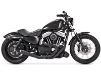 Roland Sands Design Slant 2-into-1 Carbon Ops Exhaust System