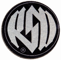 Roland Sands Design Contrast Cut Badge Kit with Logo