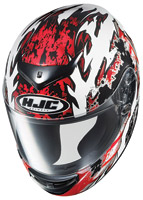 HJC CS-RS Red Skarr Full Face Helmet