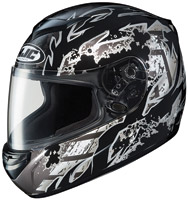 HJC CS-RS Black Skarr Full Face Helmet