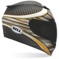 Bell RS-1 RSD Flash Bronze Full Face with Face Shield Helmet