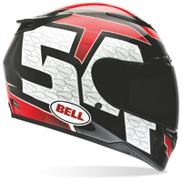Bell RS-1 Corsa Red Full Face Helmet