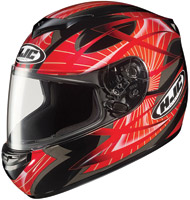 HJC CS-R2 Red Storm Full Face Helmet